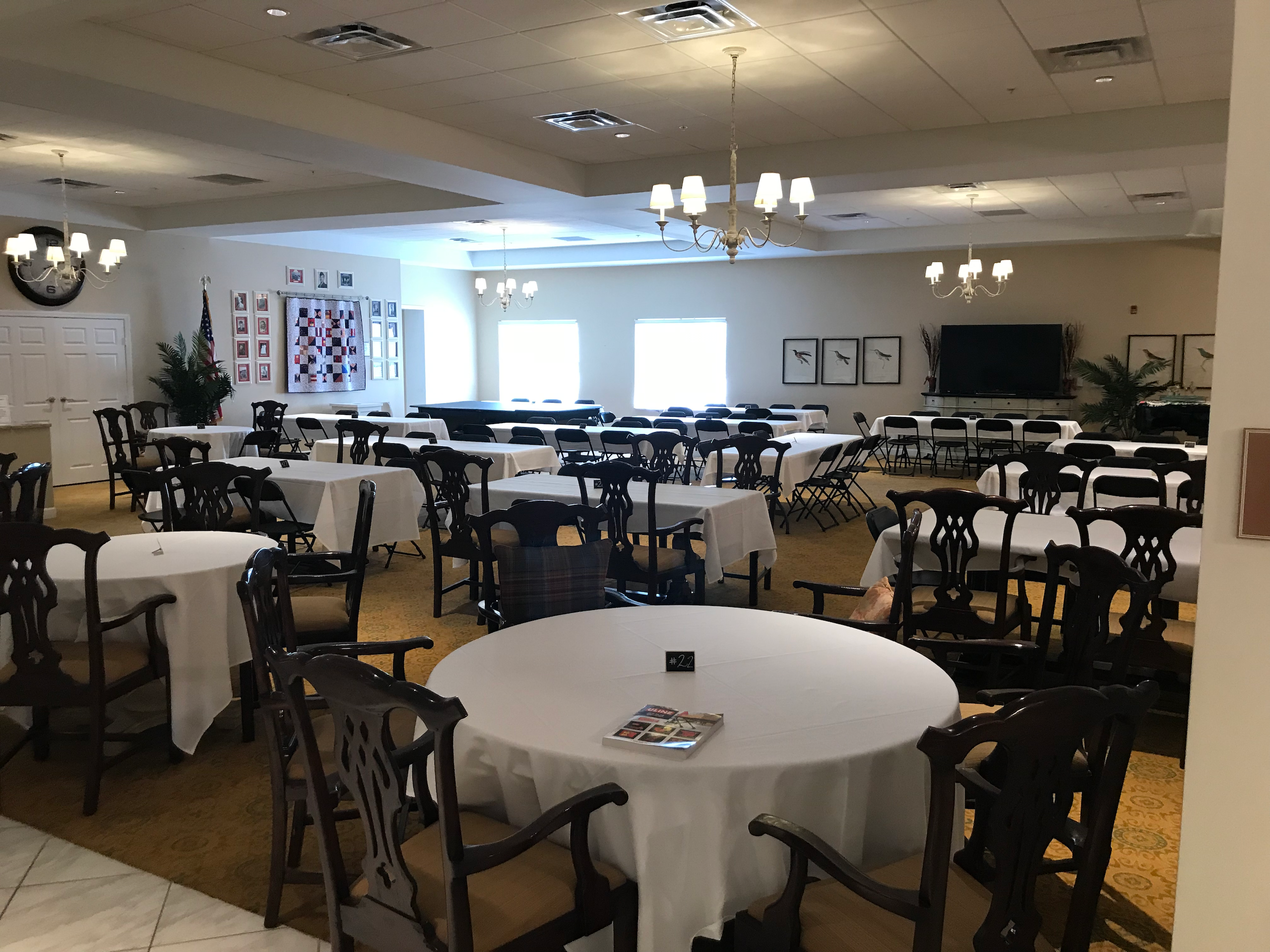 Middleton Assisted Living Dinner