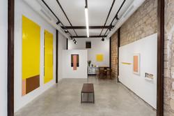 Three Across, Almacen, Jaffa, May 2020, curator: Orit Bulgaru