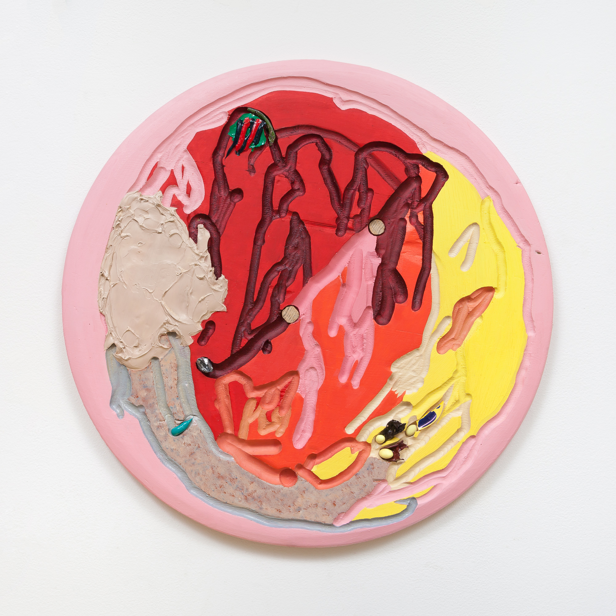 Roni Packer, Pleasing (Bright Pink), 201