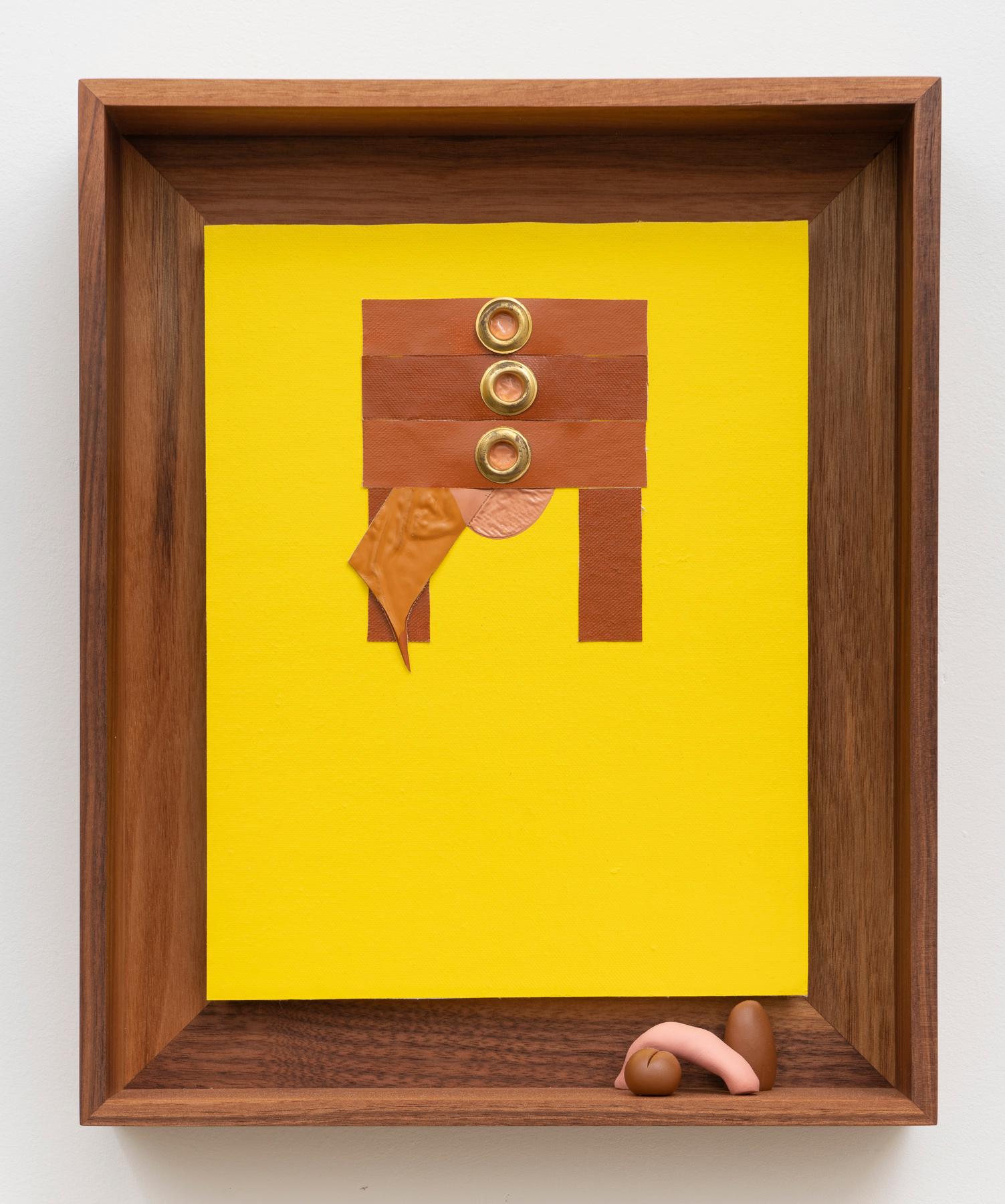 untitled (not a drawer), 2019, enamel pa