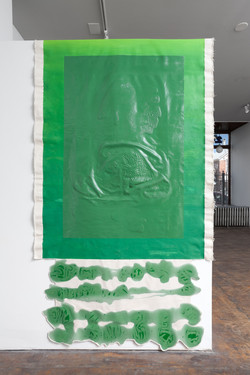 P.S. My Favorite Color is Green, solo show, Slow Gallery, winter 2018, Chicago, IL