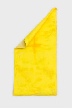 untitled (yellow plus)