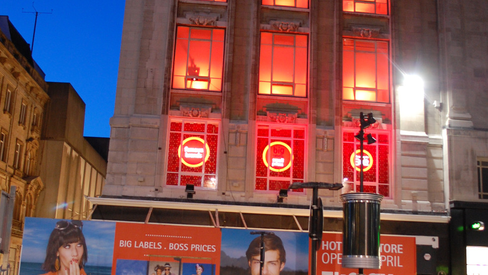 TK MAXX STORE LAUNCH PROJECTIONS