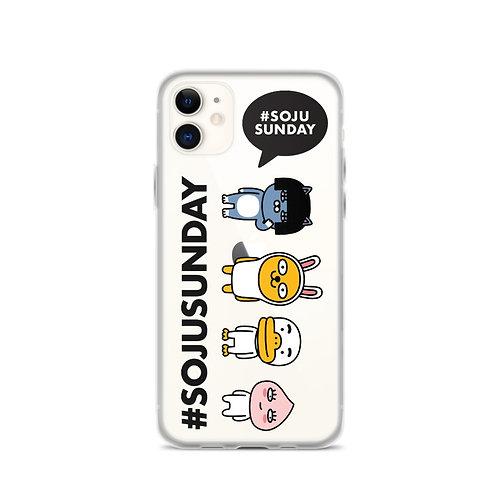 Soju Sunday iPhone Case