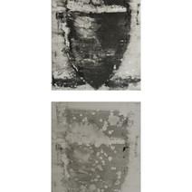 Roman Amphora, (II Top and I bottom) monotype diptych