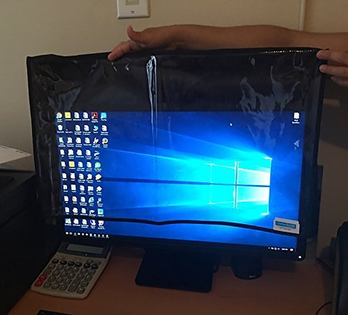 Front Transparent Monitor Cover 27 Inch