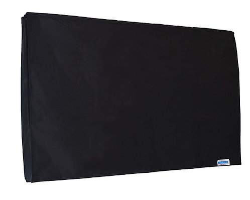 Black Marine Grade TV COVER for Samsung UN55MU7500FXZA CURVED 55'' 4K UHD