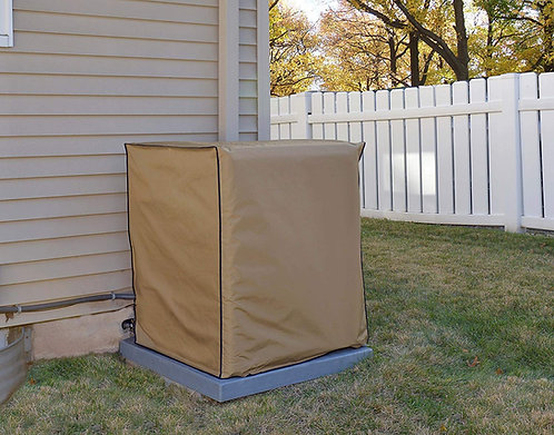 Air Conditioning System Unit Goodman Model GSXC160601C Waterproof Tan Cover