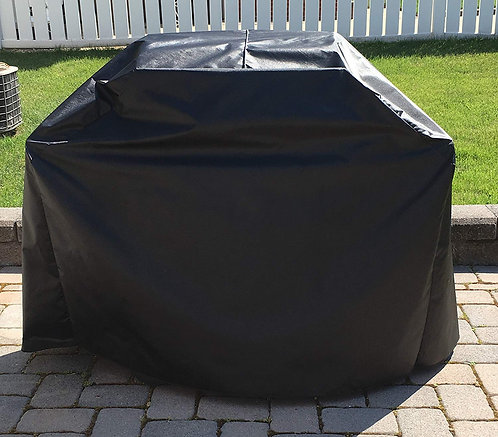 Weber Spirit II E-210 Gas Grill, Custom Fitting Outdoor, Waterproof Black Cover