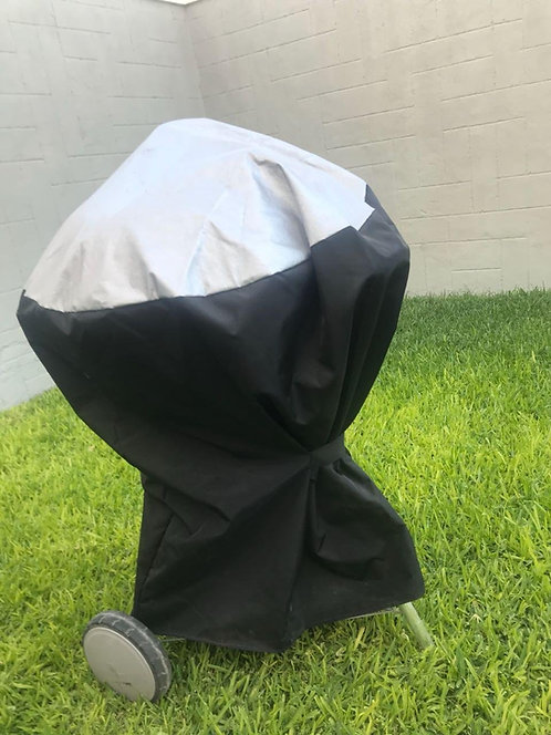 Grill Cover for Weber Summit CharCoal Grill 24''. Custom Fitting Marine Black