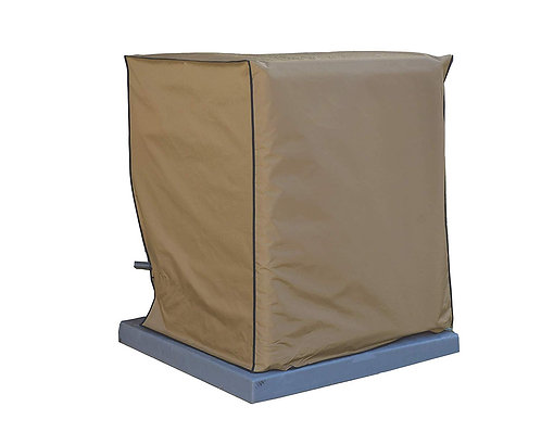 Air Conditioning System Unit Goodman Model GSXC160241C Waterproof Tan Cover