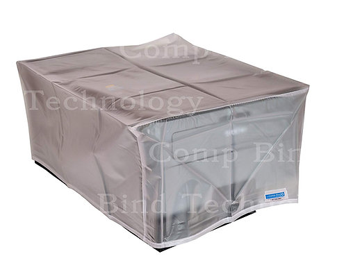 Dust Cover for Epson Workforce Pro EC-4040 Color Printer, Clear Vinyl
