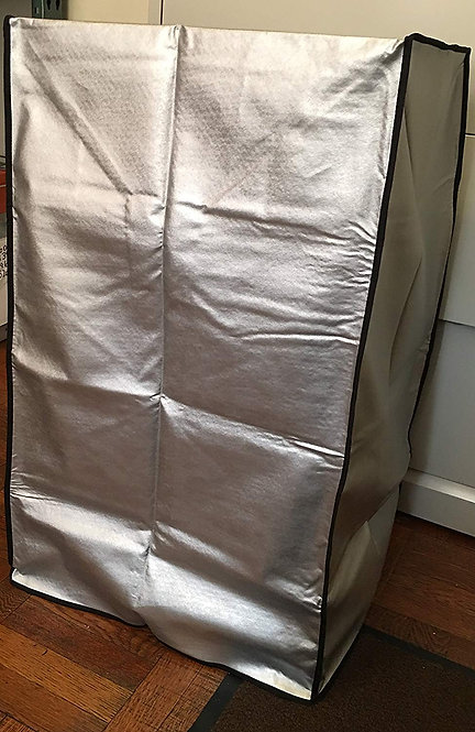 Cover for LG LP0817WSR Portable Air Conditioner, Grey Padded Anti-Static Dust
