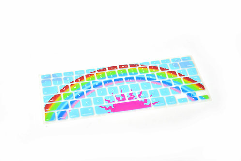 Rainbow Keyboard Cover - 10 Pack