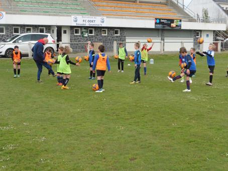 Stage jeunes FC Odet : 15 avril 2019