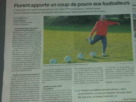 Article Ouest France du 03 mai 2019