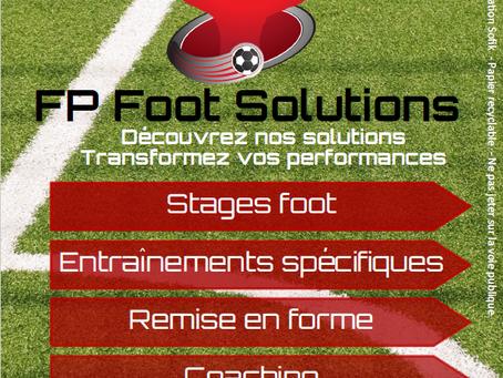 Nouvelle brochure FP Foot Solutions