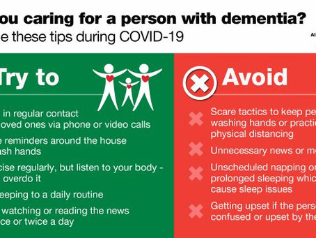 8 Tips For Supporting People With Dementia During COVID-19