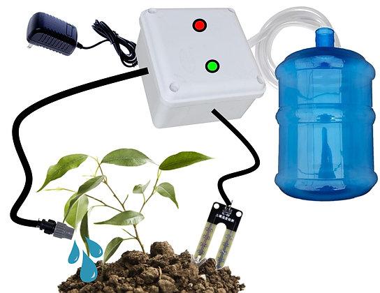 Sistema controlado de riesgo por sensor de humedad