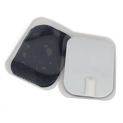 pack x 4Electrodos carbonados y gelidificados 4 x 6 cms