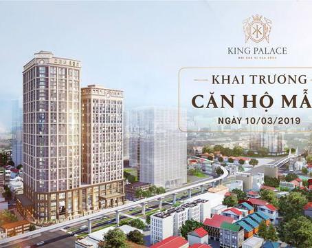 Vì sao căn hộ mẫu King Palace được mong đợi?