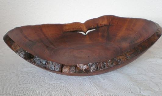 Wood: Burr Elm Size: 12 X 3 Price: £55 (ref.4938)