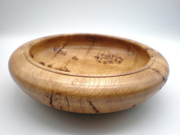 Wood: Burr Oak Size: 10 X 3 Price: £55 (ref.5328)