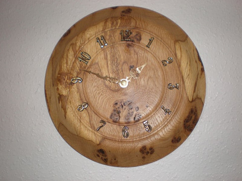 Wood: Burr Oak Size: 12 X 2 Price: £60 (ref.4724)