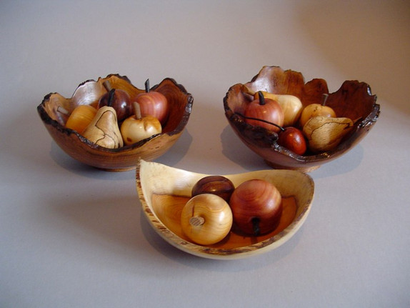 3 Samples of mini fruit bowls Price: £25 for each bowl with fruit.