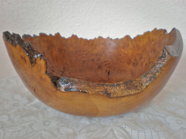 Wood: Burr Elm Size: 10 X 4 Price: £80 (ref.5192)