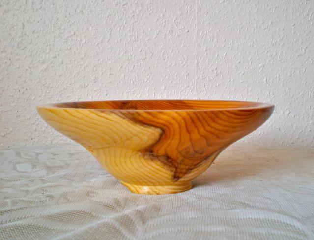 Wood: Yew Size: 7 X 3 Price: £43 (ref.5216)