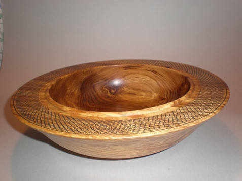Wood: Textured Elm Size: 11 X 3 Price: £50 (ref.4289)