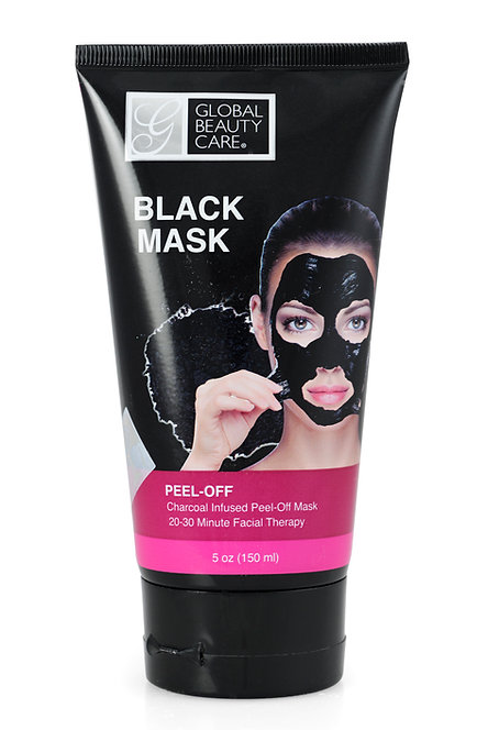 Global Beauty Care Peel-Off Masks - Black/Gold (5 Oz)