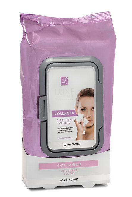 Luxe Beauty Care Makeup Cleansing Wipes (60 Ct)