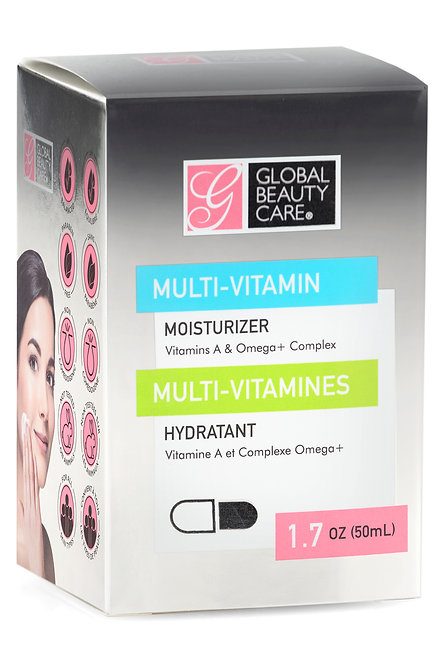 Global Beauty Care Multi-Vitamin Skin Cream - Vitamins A & Omega+ Complex