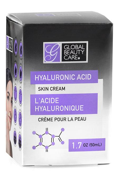 Global Beauty Care Hyaluronic Acid Skin Cream (1.7 Oz)