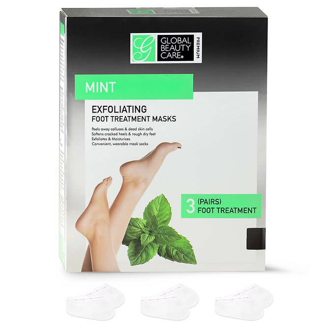 Global Beauty Care Premium Foot Treatment Masks for Men and Women