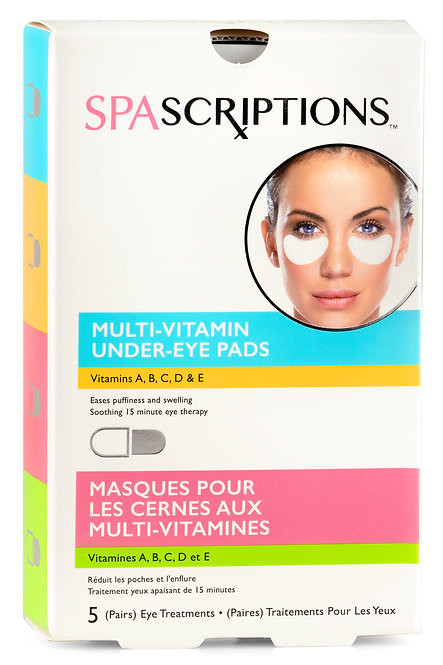 Spascriptions Multi-Vitamin Under-Eye Pads (5 Pairs)