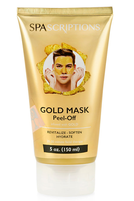 Spascriptions Peel-Off Gold Mask (5 Oz)