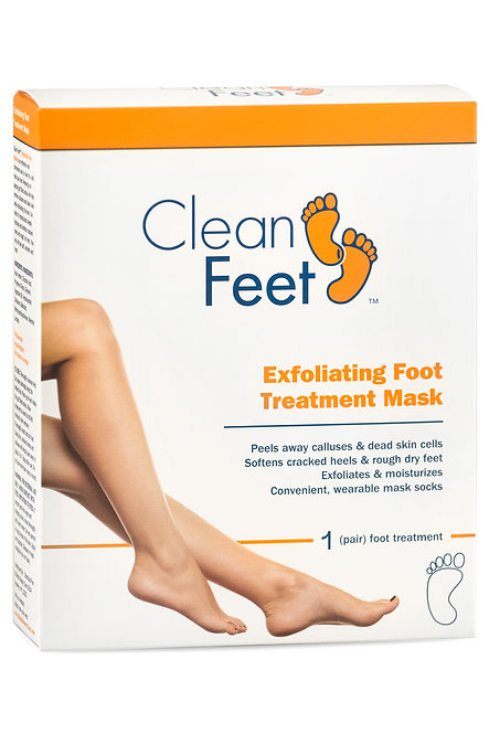 Clean Feet Exfoliating Foot Treatment Mask (1 Pair)