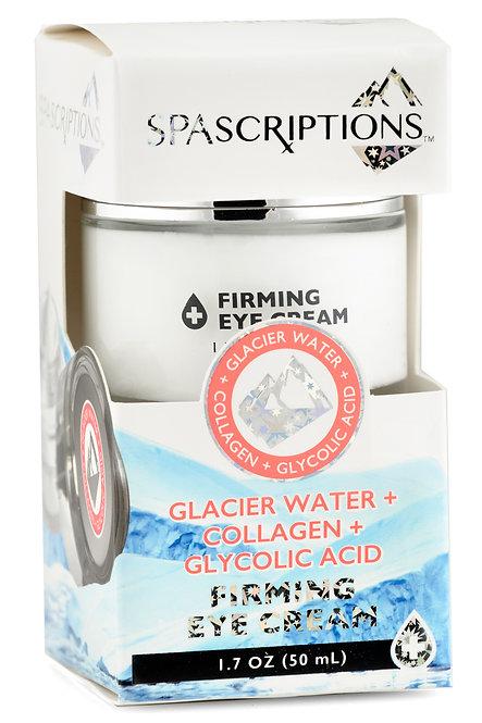 Spascriptions Glacier Water Collagen & Glycolic Acid Firming Eye Cream (1.7 Oz)