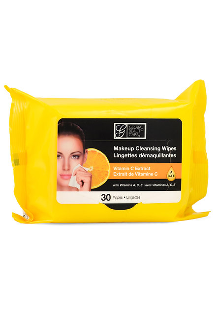 Global Beauty Care Makeup Cleansing Wipes (30 Ct)
