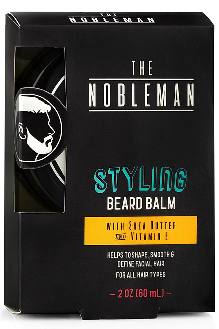 The Nobleman Styling Beard Balm with Shea Butter (2 Oz)