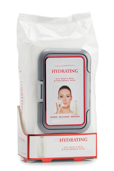 Spa Works Makeup Cleansing Wipes (60 Ct)