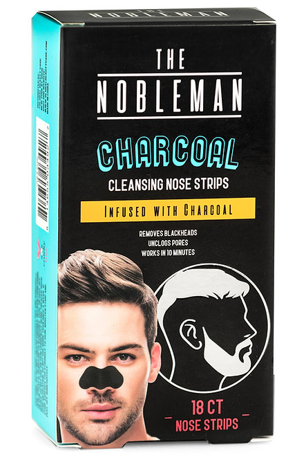 The Nobleman Charcoal Cleansing Nose Strips