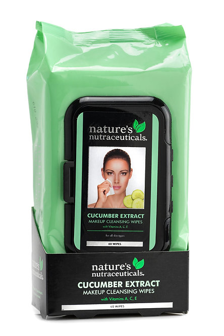Nature's Nutraceuticals Makeup Cleansing Wipes (60 Ct)