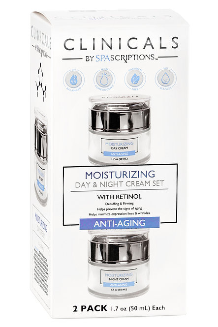 Spascriptions Clinicals Day & Night Cream Sets