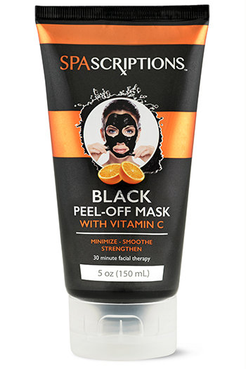 Spascriptions Black Peel-Off Mask with Vitamin C (5 Oz)