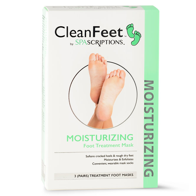 Spascriptions Foot Treatment Masks for Men and Women