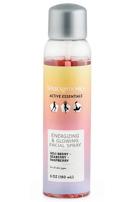 Spascriptions Active Essentials Energizing & Glowing Facial Spray (6 Oz)